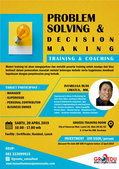 Problem-Solving-Decision-Making-Training-Apr2019